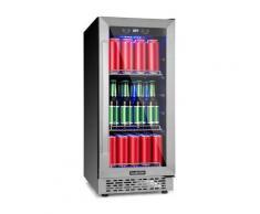Beerlager 88 frigorifero per bevande 88l 33 bottiglie EEK A acciaio inox nero