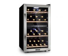 Vinamour 45D Frigorifero per Vini 2 Zone 118 l/45 Bottiglie 5-18 °C Inox