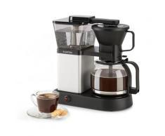 GrandeGusto Macchina del Caffè 1690W Pre-Infusion 96°C nero/metallizzato