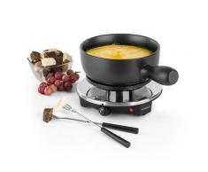 Sirloin Raclette con Pentola in Ceramica per Fonduta 1200W nero