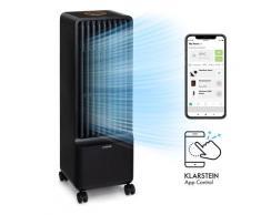 Maxflow Smart, Raffreddatore Evaporativo, Ventilatore, Umidificatore, 5L, Wi-Fi, Telecomando, 2x Piastre Eutettiche