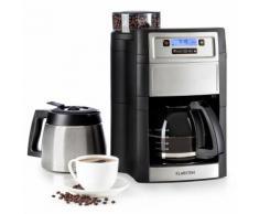 Aromatica II Duo Macchina del Caffè, Macina Integrata 1,25 l nero