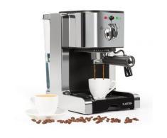 Passionata 20 Macchina del Caffè Espresso 20 bar Cappuccino Schiuma argento