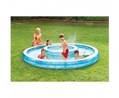 Piscina gonfiabile bambini Intex 57143 doppia vasca gioco