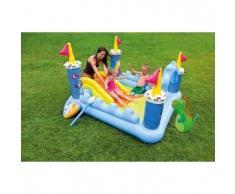 Piscina gonfiabile bambini Intex 57138 Fantasy Castle castello gioco scivolo