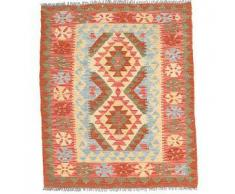 Tappeto Kilim Afghan Old style 90x108 Tappeto Orientale