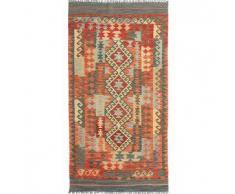 Tappeto Kilim Afghan Old style 109x208 Tappeto Orientale