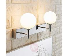 Applique LED da bagno Florijon, bilampada
