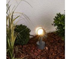 Faretto spot Elvan, a LED, per esterni