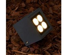 Faretto spot Charlie, con LED, per esterni, IP65