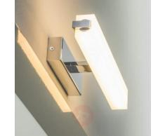 Applique per bagno Sitas con LED