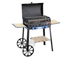 Ferraboli Barbecue A Gas Roccia Gas Lux Fb-75