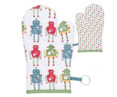 Clayre & Eef Guanto Forno Robot