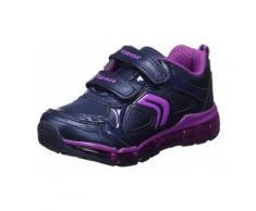 Scarpe bambini Geox Android Scarpe Sportive Bambina Luci Viola J7445AC4269 bambino