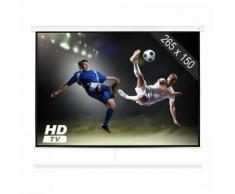 """SLS-120 Beamer Schermo 120"""" 265 x 150 cm Home Cinema Proiettore HDTV"""