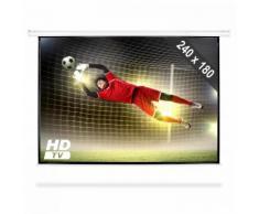 Schermo Proiettore 240 X 180 Cm Beamer Home Cinema HDTV 4:3