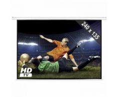 schermo proiettore 240x135cm home cinema HDTV 16:9