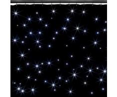 beamZ SparkleWall Tenda LED LED 96 RGBW – bianco freddo 3x2 m incluso Telecomando