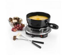Klarstein Sirloin Raclette con Pentola in Ceramica per Fonduta 1200W nero