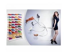 Scarpiera shoes rack amazing 40 paia nuovo salvaspazio organizer ripostiglio