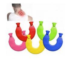 Borsa acqua calda per collo rimedio per cervicale e mal di schiena collare scaldacollo