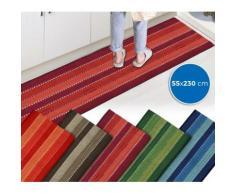 Tappeto mod. STRIPES 55 x 230 cm 100% cotone 184042 ideale per bagno e cucina