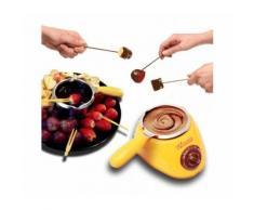 Set di fonduta per cioccolato e formaggio cioccolatiera elettrica con accessori