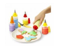 Set di decorazione torte cupcakes dolci biscotti 19 pz torta decora