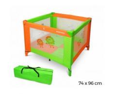 170953 Box giochi per bambini colorato con materassino 74h x 96 x 96 cm