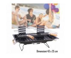 Barbecue da tavolo 43 x 25 cm mod KALBARRI bbq collection portatile