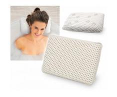 92280 Cuscino poggiatesta per vasca da bagno con ventose Relax Bath impermeabile