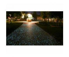 Pack da 300 sassolini luminosi decorativi fluorescenti glow in the dark