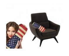 190216 Cuscino da nuca decorativo con bandiera USA Stars e Stripes