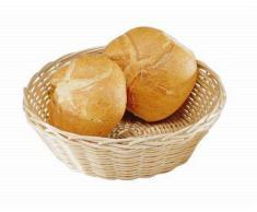 Cestino per pane rotondo in Rattan Dimensioni ø mm. 200 x 70 h Modello 2855