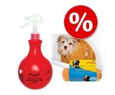 Set Pet Head Shampoo POOF SPRAY + Asciugamani microfibra SnuggleSafe - 2 pz