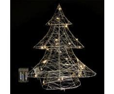 Albero di Natale luminoso Selya Bianco caldo 30 Micro LED