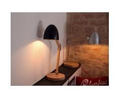 Lampada da tavolo - e comodino - illuminazione - nera - VELEKA