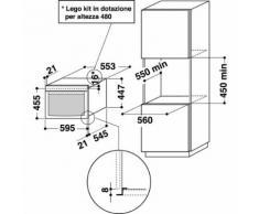 Whirlpool AMW 842/IXL microonde