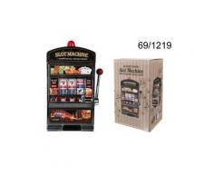 Salvadanaio slot machine con campanello e luce