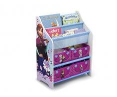 Disney Frozen Libreria legno Multi Toy Organizer Scaffale per bambini giocattolo Regal
