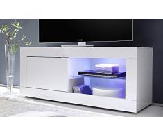 Porta TV moderno Square A21 portatv mobile moderno soggiorno scelta fra 3 colori