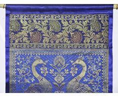 impiccagione Vintage Porta sacchetto di seta due tasche Parete attrezzata