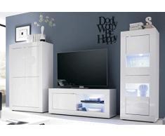Credenza Moderna Bianca Legno : Mobili in legno massello cucine soggiorni e camere da letto