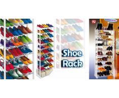 Scarpiera 30 paia Amazing shoe rack salvaspazio scaffale organizer scarpe leggera e trasportabile e facile da montare visto in tv mws