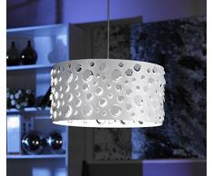 Onli Bollicine Lampada a Sospensione E27, Bianco, 40 cm x h 90 cm