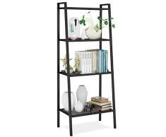 Scaffale a scala acquista scaffali a scala online su livingo - Libreria a scaletta ...