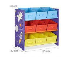Mobili Portagiochi Per Bambini : Scaffale per bambini » acquista scaffali per bambini online su livingo