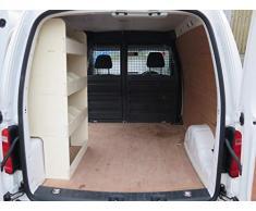 Adatto per Volkswagen VW Caddy SWB Compensato scaffalature – Sistema di stoccaggio NS – portautensili