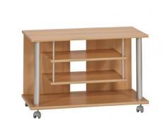 Maja 18988831 Carrello porta TV in finto legno di faggio, 800x545x400 mm