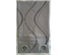 Pannello tenda con borchie cm 140x280 disegno ad onde
